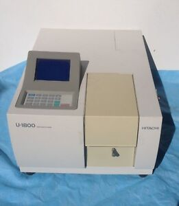 Hitachi U 1800 Uv Vis Spectrophotometer