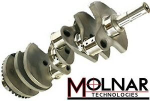 Molnar Ford 302 Crankshaft 3 250 Or 3 400 Premium 4340 Non Twist Forged Steel