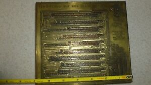 Letterpress Printing Block Press Wood Metal Questions What s Your Score Large