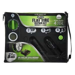 Slime 50123 Flat Tire Repair Kit Digital Series New