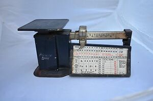 Triner 1940 S Vintage Scale Airmail Accuracy Up To 1lb Chicago Ill Working