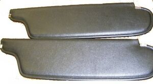 1962 62 Plymouth Sunvisors Non Perforated Material Colors Available
