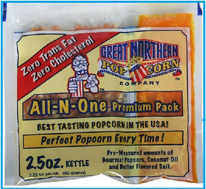 Great Northern Theatre Movie Gourmet Butter Popcorn 2 5 Oz Portion Packs 24