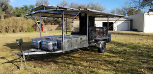 Competition Bbq Cook Off Trailer Smoker One Of A Kind