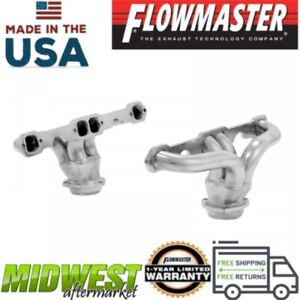 Flowmaster Header Fits 1957 1974 Chevrolet Corvette With 327 Or 350 Cu In V8