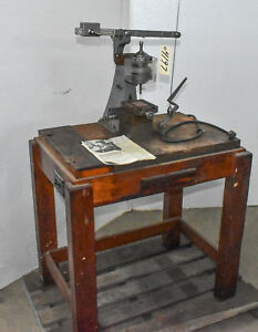 Vintage Small Hole Drilling Machine National Jet Co ctam 4197