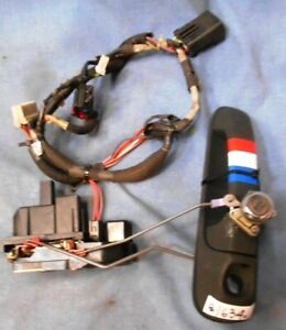 99 04 Jeep Grand Cherokee Laredo Drivers Front Door Latch Lock W Wiring Harness