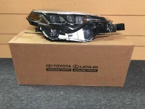 Head Lamp Toyota Corolla Right Hand 2017 2018 New In Box Free Shipping