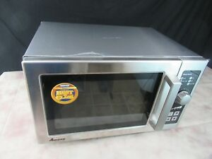 Amana Rcs10dse 1000 Watt Commercial Microwave Oven see Notes