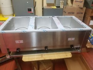 Advance Tabco Electric Steam Table Commercial Grade