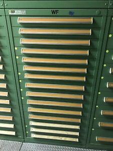 Stanley Vidmar Cabinets 15 Drawers