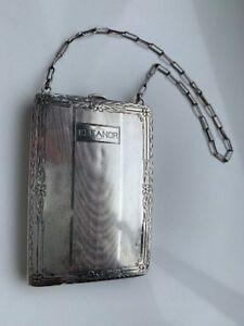 Vintage Sterling Silver Coin Purse Compact Eleanor Reduced
