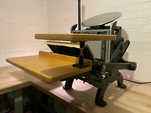 Craftsmen Monarch 9x12 Letterpress Platen Printing Press C p Pilot Vandercook