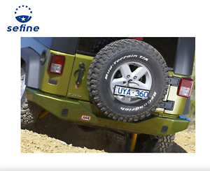 Arb Rear Bumper For 2007 15 Jeep Wrangler Jk Integrated Tow Points 5650200
