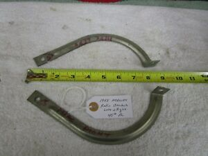 1955 Mercury Radio Mounting Brackets R L