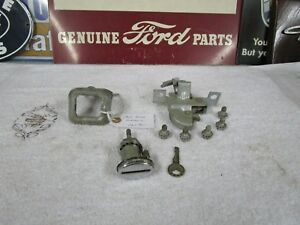 1961 Ford Galaxie Trunk Lock Assy Complete With Key