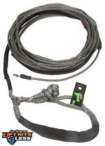 Voodoo Offroad 1400007 Winch Rope 3 8 X80 W Soft Shackle End For Jeep Truck