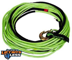 Voodoo Offroad 1400003 Winch Rope For Jeep Truck 3 8 X 80