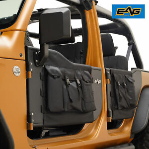 Eag 2018 2019 Jeep Wrangler Jl 4 Door Pocket Steel Tube Door With Side Mirror