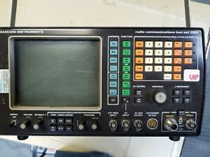 Marconi 2955 Service Monitor With Power Cord