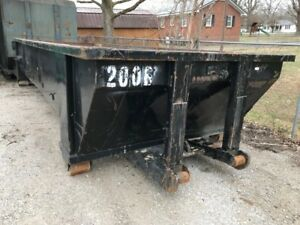 20 Yard Roll off Dumpster Container