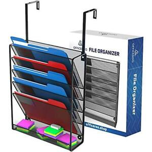 Hanging Organizer Cubicle File Holder Wall Mount Storage Office Cubical