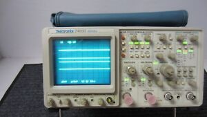 Tektronix 2465b Analog Oscilloscope 4 Channel 400mhz Option 22 ff