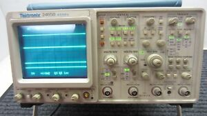 Tektronix 2465b Analog Oscilloscope 4 Channel 400mhz fff