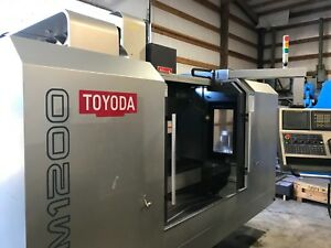 Toyoda Bm 1200 Cnc Vertical Machining Center 50 Taper 4th Axis Haas mori Seiki