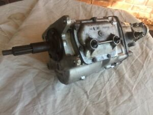 1966 Corvette Muncie M20 4 Speed Gm Transmission Referbished Years Ago Unused