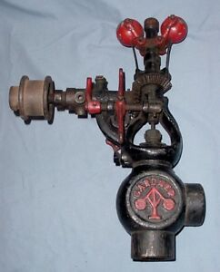 Gardner 1 Inch Hit Miss Gas Steam Engine Governor Half Breed Bessemer