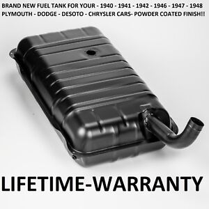 40 41 42 46 47 48 Brand New Plymouth 6 Cylinder Car Gas Tank Oem Duplicate Fuel
