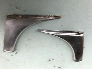 50 51 52 Chevy Car Windshield Stainless Corner Trims