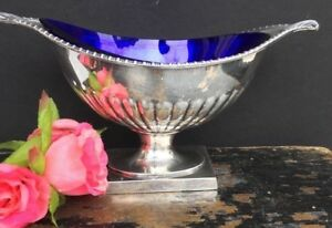 Antique English Silver Plate Bowl Dish