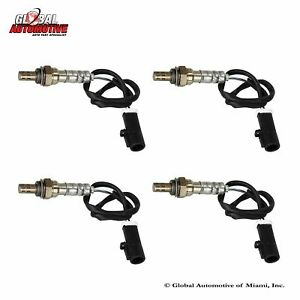 Set Of 4 New Oxygen O2 Sensor For 2001 2010 Ford Explorer Sport Trac 4 0l 4 6l
