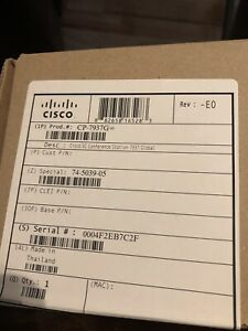 Cisco Cp 7937g Unified Ip Conference Station Voip Phone Poe