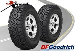 Qty Of 2 Bf Goodrich All Terrain T A Ko2 Lt315 70r17 121 118s Bsw 10p E Tires