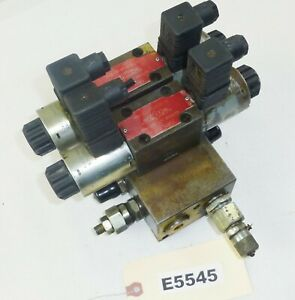 Main Wheel Solenoid Control Valve Manifold Om35001 Vibromax W1500 Trench Roller