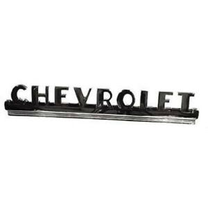 Chevy Truck Hood Side Emblems chevrolet 1950 1952 61 242608 1