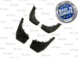New Full Set Land Rover Discovery 09 16 Mud Flaps Splash Guards Arch Mud Cover