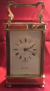 Antique Carriage Clock By Jean Renet