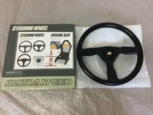 Mazda Speed Steering Wheel 36 Rx 7 Savanna Sa22c Fc3s Fd3s Roadster