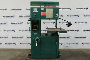Powermatic 87 20 Variable Speed Metal Cutting Vertical Band Saw