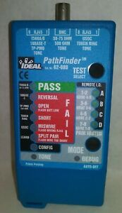 Ideal 62 080 Pathfinder Wire cable tester tracer Rj45 Nos