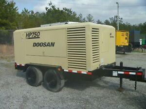 2011 Ir Doosan Air Compressor 150 Psi 750 Cfm Cummins Diesel