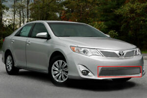 Fits 2012 2014 Toyota Camry Fine Mesh Lower Chrome Grille