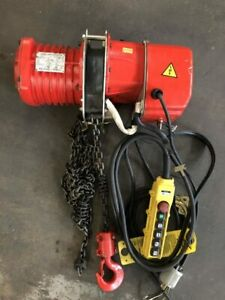 Ace Advantage 100 1 Ton Electric Chain Hoist