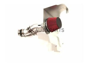 Cold Air Intake System For 2011 2014ford Mustang V6 3 7l Silver