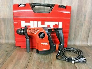 Hilti Te 30 c Kit 36v Li ion Rotary Hammer Drill Sds plus Lithium Battery 40 35