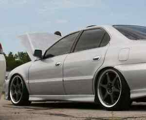 New 99 00 01 02 03 Acura 3 2 Tl Oe Style Type S Side Skirts Lip Body Kit A Spec